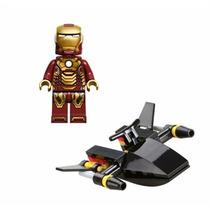 Lego Homem De Ferro (iron Man) Com Jet