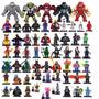 Bonecos Padrão Lego Heróis Marvel Dc Vingadores Liga Justiça