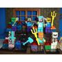 Kit Festa Minecraft Decoração Lembrança Boneco Mesa De Festa