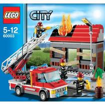 Lego City 60003 Incendio Na Cidade - Bombeiros. Em Estoque.