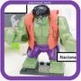 Hulk Tipo Lego Bruce Benner Colete Card Para A Criançada