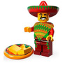 Lego Minifigures Series Movie Taco Tuesday Guy