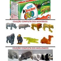 Miniaturas Kinder Ovo - Coleção Natoons 2013