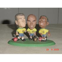 * Trio Da Copa - Dunga - Ronaldo - Romário - P/colecionar *