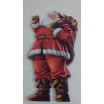 Papai Noel De Madeira Mdf - Lançamento