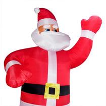Papai Noel Gigante 3 Metros Inflavel Natal Enfeite Natalino