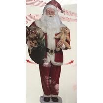 Papai Noel Animado Com Sensor Musical Dançante Gigante 1,80m
