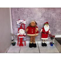 Decoração De Natal Com Bonecos Gigantes 50cm