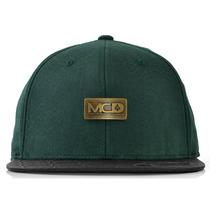 Boné Mcd Classic Strapback Aba Reta Flexfit Verde