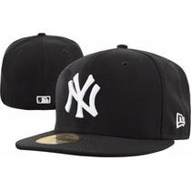 Boné New Era Ny Yankees Aba Reta 12x Sem Juros Frete Grátis