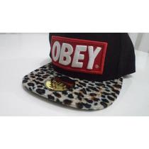 Boné Obey Leopardo - A Pronta Entrega - Fotos Originais