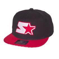 Boné Starter Snapback Starter Hound Logo Preto / Vermelho