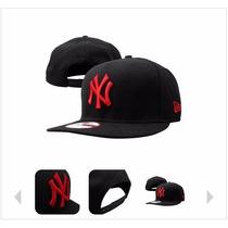 Boné Aba Reta Snapback Streetwear Caps Hip Hop Strapback Ny