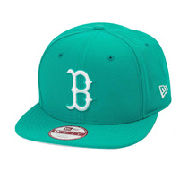 Boné New Era Snapback Original Fit Boston Red Sox Acqua