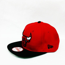 Boné New Era Chicago Bulls Original Fit Snapback Aba Reta