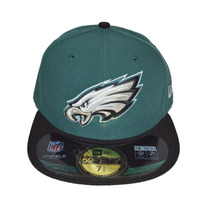 Boné New Era Aba Reta Fechado 5950 Nfl Philadelphia Eagles