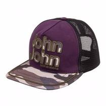 Boné John John Aba Reta 100% Original Etiquetado Pela Griff