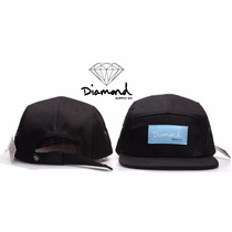 Bonés 5 Panel - Diamond Supply - Hip Hop - Snapback