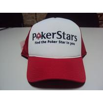 Boné Poker Stars Snapback Trucker Frete Grátis