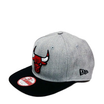 Boné New Chicago Bulls Cinza Original Fit Snapback