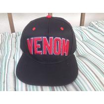 Boné Venom Preto E Vermelho ( Element, Dc , Hurley, Volcom)