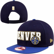 Boné Aba Reta Snapback Importado New Era Nba Denver Nuggets