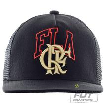 Boné Adidas Flamengo Trucker - Futfanatics
