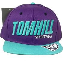 Boné Aba Reta Tom Hill Streetwear Bordado Snapback