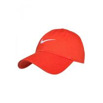 Boné Nike Swoosh Heritage 86 | Cor: Laranja / Branco
