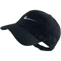 Boné Nike Swoosh Heritage 86 | Cor: Branco / Cinza