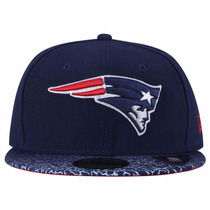 Boné New Era Aba Reta - New England Patriots - Snapback