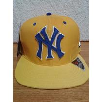 Boné Aba Reta Snapback - Ny New York Yankees - Frete Grátis