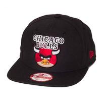 Boné New Era Snapback Original Fit Chicago Bulls Angry Bird
