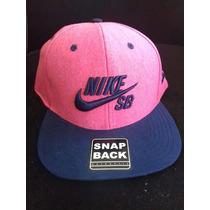 Boné Nike Rosa Aba Reta Sb Snapback Original Frete Gratis