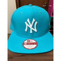 Boné New Era Snapback Ny Yankees Azul Bebê