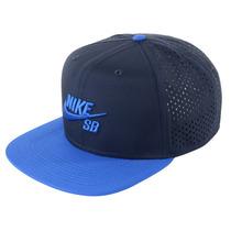 Boné Masculino Nike Sb Performance Trucker Marinho/azul