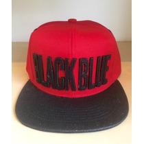 Boné Black Blue Original - Aba Reta, Snapback