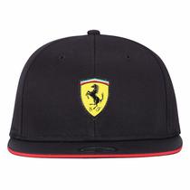Boné Puma Escuderia Ferrari Preto