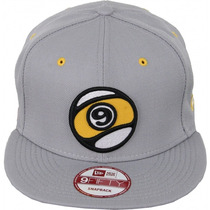 Boné Sector 9 Ball Snapback New Era Silver Importado