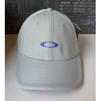 Boné Oakley Silicon Cinza Grey Tam. L/xl (100% Autentico)