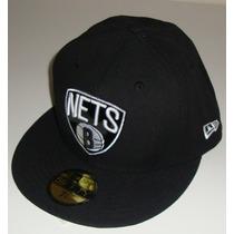 Boné Brooklyn Nets Nba Original Aba Reta Fechado New York