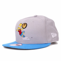 Boné New Era Snapback Aba Reta The Simpsons Bart
