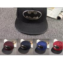 Boné Do Batman Aba Reta Hip Hop