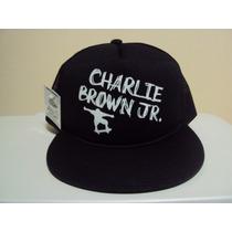 Boné Aba Reta Charlie Brown Jr Skate Chorao Frete Gratis