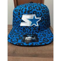 Boné Snapback Starter Jaguar Azul