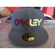 Bone Oakley Cinza New Era Snapback Lançamento