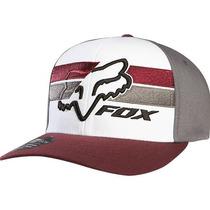 Boné Fox Gran Pacer Flexfit Branco P/m Rs1