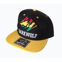 Boné Dark Wolf Aba Reta Snapback Aba Reta Bombeta Barata Top