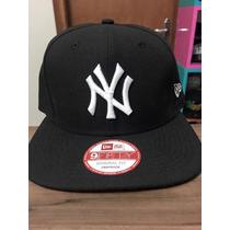 Boné Snapback New Era Ny Yankees Preto/branco