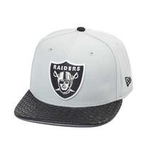 Boné New Era Strapback Oakland Raiders Leather - Nfl